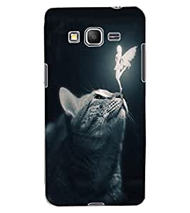 ColourCraft Angel and Cat Design Back Case Cover for SAMSUNG GALAXY GRAND PRIME G530H