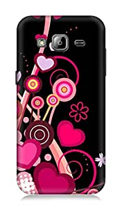 Samsung Galaxy J3 3Dimensional High Quality Back cover by 7C
