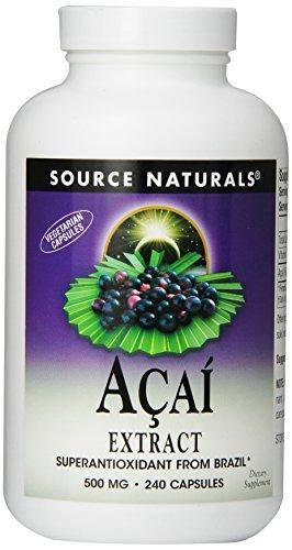 Source Naturals Acai Extract 500Mg, 240 Vcaps