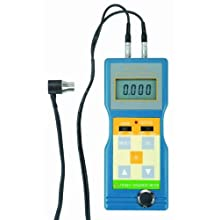 "Reed TM-8811 Ultrasonic Thickness Gauge, 0.05 to 7.9""/1.5 to 200mm Range, 0.001""/0.1mm Resolution, +/-0.5% Accuracy"