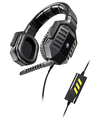 Snakebyte-Python-6600V-Virtual-71-Surround-Sound-USB-Gaming-Headset-with-detachable-Microphone-for-PC-Notebook-Computer-Incl-In-Line-Remote-Over-the-Ear-Wired