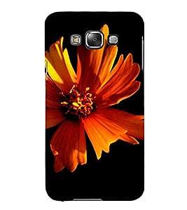 PrintVisa Flower Design 3D Hard Polycarbonate Designer Back Case Cover for Samsung Galaxy E7