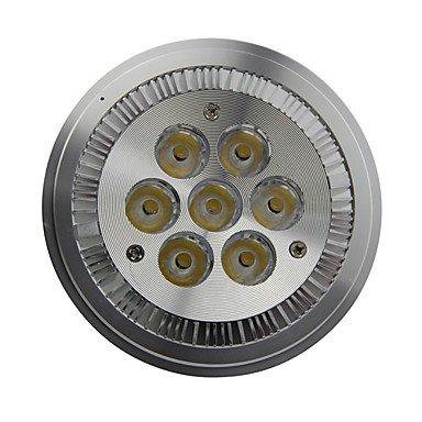 Rayshop - Ar111 E27 7W 770Lm 6000K Cool White Led Spot Lamp Light(Ac85-260V)