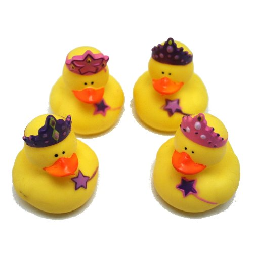 12 Princess Rubber Duckies! by Fun Express