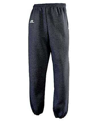 Russell Athletic Men's Dri-Power Closed-Bottom Fleece Pocket Pant