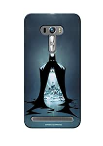 Sowing Happiness Printed Back Cover For Asus Zenfone 2 500 KL