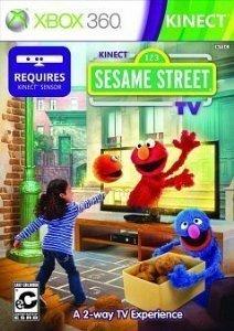 KINECT SESAME STREET TV XBOX360 NTSC DVD (2TG-00001) -