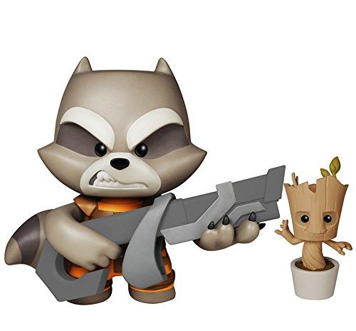 Funko Super Deluxe Vinyl: GOTG - Rocket Raccoon Action Figure