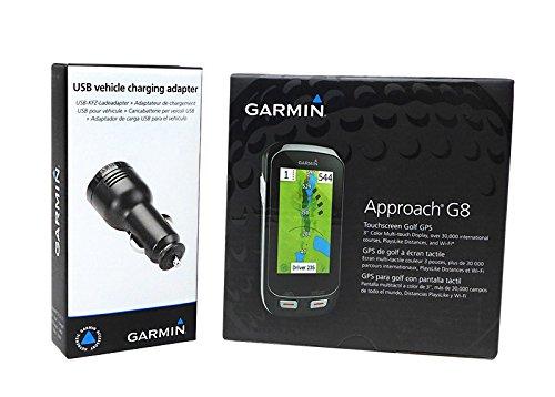 Garmin Approach G8 Handheld Golf Gps With Usb Car Charge