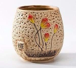 Pot de fleur ext rieur int rieur c ramique design original for Pot ceramique exterieur