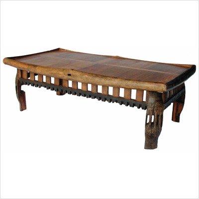 Groovy Stuff California Rectangle Teak Wood Coffee Table - Tf-067