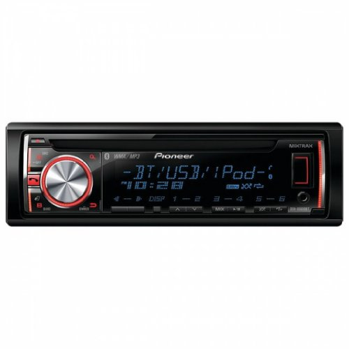 Pioneer Deh-X6600Bt Cd Receiver With Mixtrax(Tm), Bluetooth(R), Android(Tm) Media Access, 2 Sets