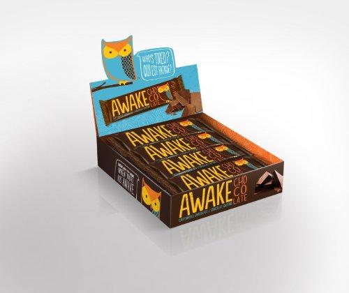 AWAKE Caffeinated Chocolate - Milk - 12 Pack