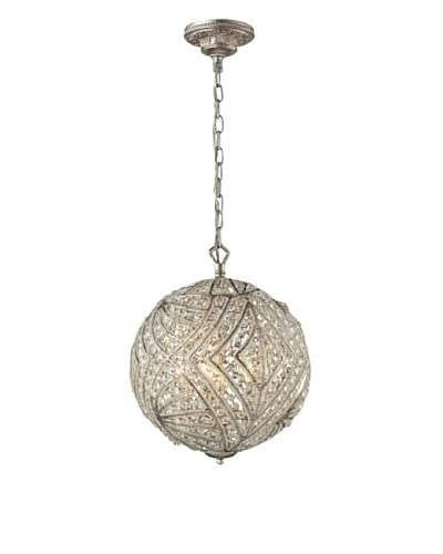 Artistic Lighting Renaissance Collection 5-Light Pendant, Sunset Silver