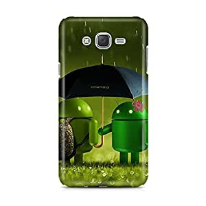 Motivatebox - Samsung Galaxy J1 Ace Back Cover - Android Raining Polycarbonate 3D Hard case protective back cover. Premium Quality designer Printed 3D Matte finish hard case back cover.