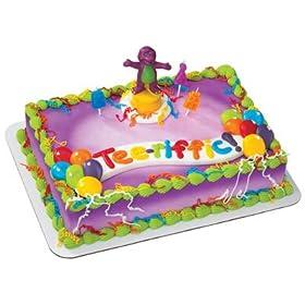 Barney Cake Topper Amazon