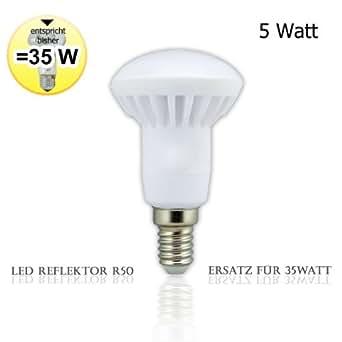 LED Reflektor R50 e14 - Ersatz für 35 Watt (Warmweiß)