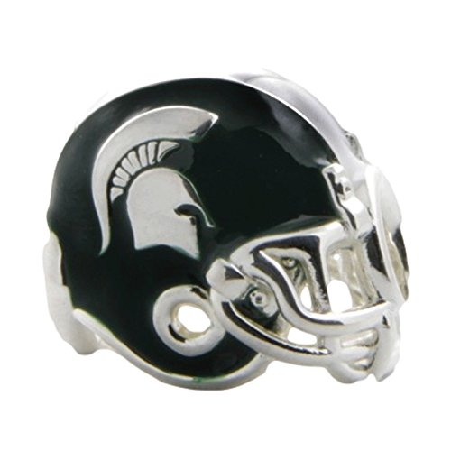 Michigan Wolverines 3-D Football Helmet Bead Charm - Fits Pandora & Others