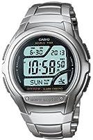 Casio - WV-58DU-1AVES - Montre Homme - Digital - Alarme - Chronographe - Rétro éclairage - Radio Piloté - Bracelet Acier inoxydable Argent