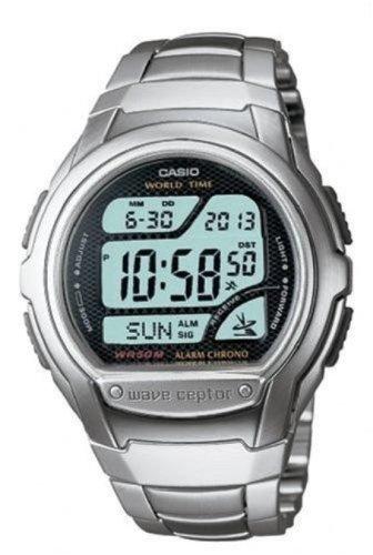 Casio WV-58DU-1AVES Mens Wave Ceptor Bracelet Digital Watch, Radio Controlled