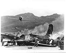 Photo of the Bombing of Pearl Harbor
