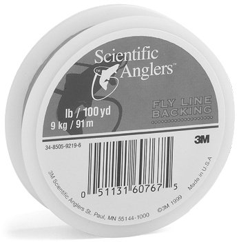 Scientific Anglers Dacron 30 -Pounds Test Fly Line Backing (White, 100 Yards)