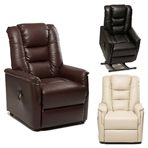 The-Bradfield-Riser-Recliner-Chair-in-Faux-Leather-PU-Single-Motor-easy-clean-lift-and-tilt-rise-chair-Three-colours-available-cream-black-and-nut-brown