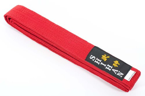 Karate Belt Martial Arts SHIHAN - (GOLD-RANGE) RED 280cm