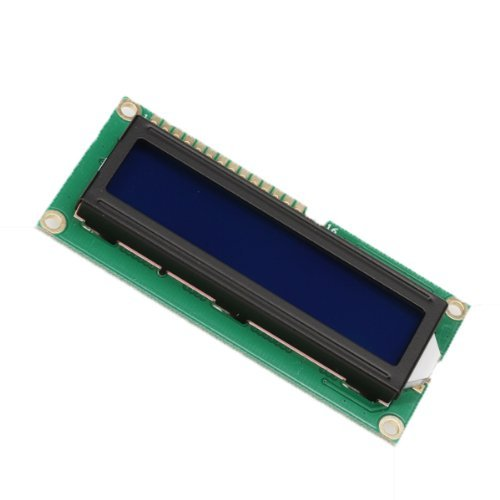 Toogoo(R) 16-Character X 2-Line Lcd Module Character Display Screen Blue Backlight