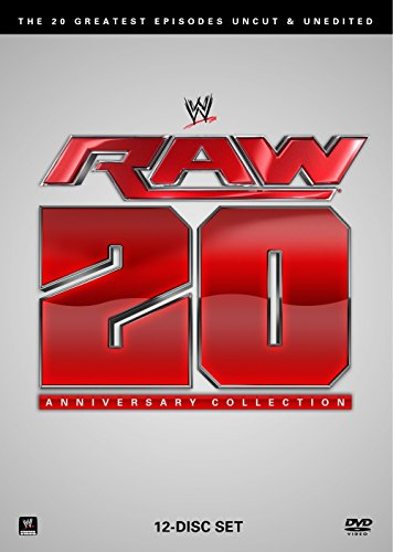 DVD : WWE Raw 20th Anniversary Collection: The 20 Greatest Episodes Uncut & Unedited (Boxed Set, Full Frame, 12 Disc)