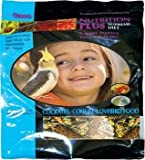 F M Browns Nutrition Plus Supreme Cockatiel Lovebird &amp; Conure Bird Food 6-3-lb Bag