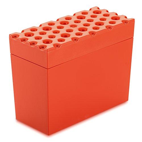 Koziol 3042633brød 'Pains strömshaga Boîte?: résine thermoplastique Rouge massif, 14,6x 9x 18cm