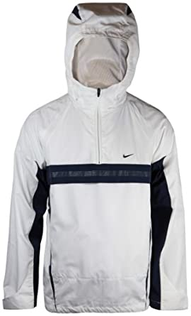 NIKE HOODED HALF ZIP JACKET (SMALL)