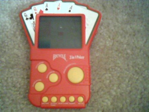 Bicycle 3 in 1 Poker Handheld Game - 1