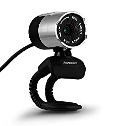 Ausdom Webcams Webcam 1080P Web Camera HD with Built-in Noise-canceling Microphone