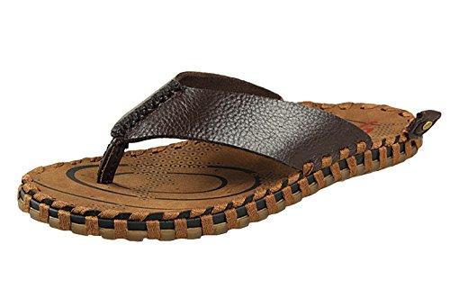 Boys Leather Flip Flops