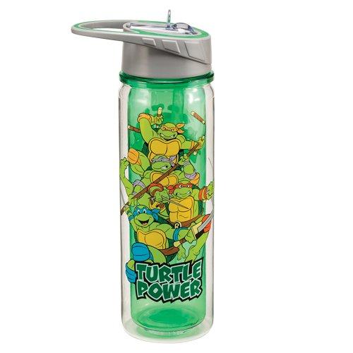 Vandor 38075 Teenage Mutant Ninja Turtles 18 oz Tritan Water Bottle, Multicolor (Ninja Turtles Water compare prices)