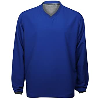 Ashworth Mens V-Neck Wind Pullover by Ashworth