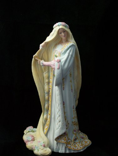 Lenox Legendary Princess Rapunzel Porcelain Figurine (Ermine Robe)