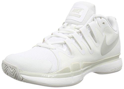 Nike Zoom Vapor 9.5 Tour Summit White/Light Bone/Light Bone Women's Tennis Shoes (Vapor Tour 9 compare prices)