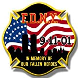 FDNY 9/11 IN MEMORY OF OUR FALLEN HEROES PATCH