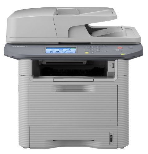 Samsung SCX 5737FW - Multifunction ( fax / copier / printer / scanner ) - B/W - laser - copying (up to): 35 ppm - printing (up to): 35 ppm - 300 sheets - 33.6 Kbps - Hi-Speed USB, 802.11b, 1000 Base-T, 802.11g, 802.11n