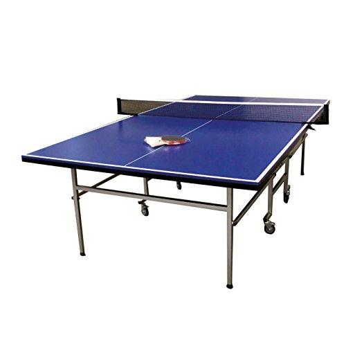 """Tavolo da ping-pong professionale """"Zaghis"""" + 2 RACCHETTE + 3 PALLINE + RETE mod. Roby RICHIUDIBILE CON RUOTE"""