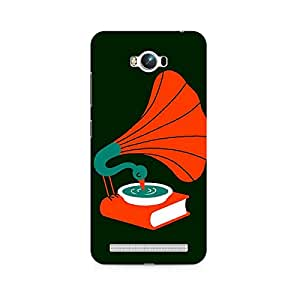 Ebby Music Peacock Premium Printed Case For Asus Zenfone Max