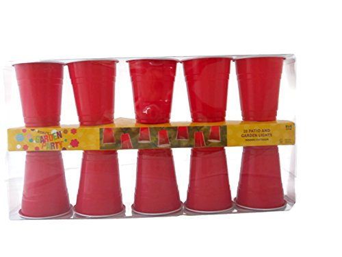 Nicoles Garden Party Red Solo Cup Lights