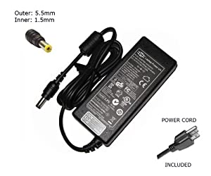 "Laptop Notebook Charger for Packard Bell Easynote TE Series / TV Series (All Models)  Adapter Adaptor Power Supply ""Laptop Power"" Branded (Power Cord Included)"