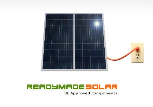 Readymade Solar Power Kit- 470Watt (2 X 235 Watt Solar Panel) With Micro Grid Tie Inverters Attached, Ul Approved Polycrytalline Solar Panel, Prewired And Configured. Do It Yourself (Diy) Solar; Ul ;20-Years Warranty ; Attach Easily To Your Roof, Backyard