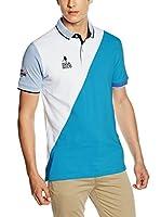 Spagnolo Polo (Azul / Blanco)