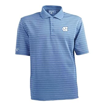 NCAA North Carolina Tar Heels Elevate Desert Dry Lite Polo Mens by Antigua