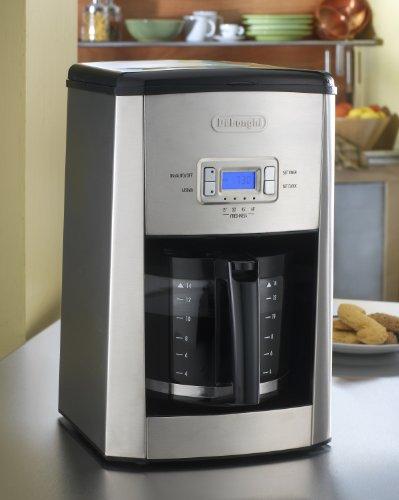 Delonghi Coffee Maker Dc514t : DeLonghi DC514T 14-Cup Programmable Drip Coffeemaker Black Coffee Maker